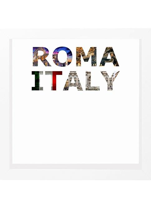 Decarthome Roma Anı Çerçevesi 23x23 cm Beyaz